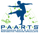 PAARTS | Performing Arts and Athletic Restorative Training Specialists | Wellness Studio | San Diego California Logo